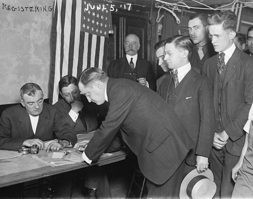 signing the draft