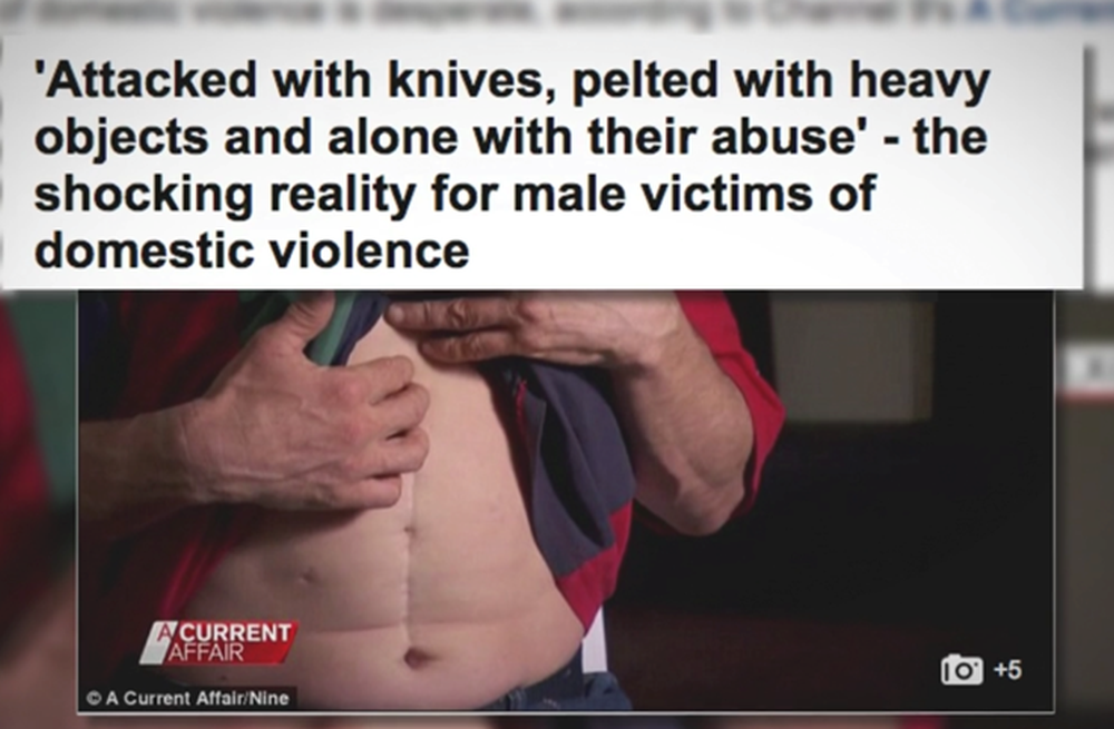 male domestic violence victim