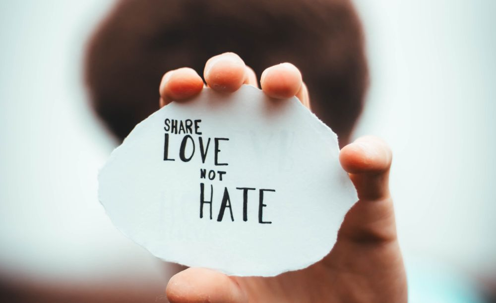 share love not hate