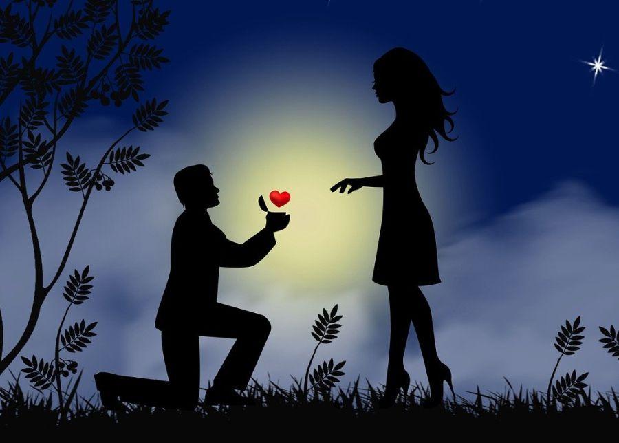 romance scene