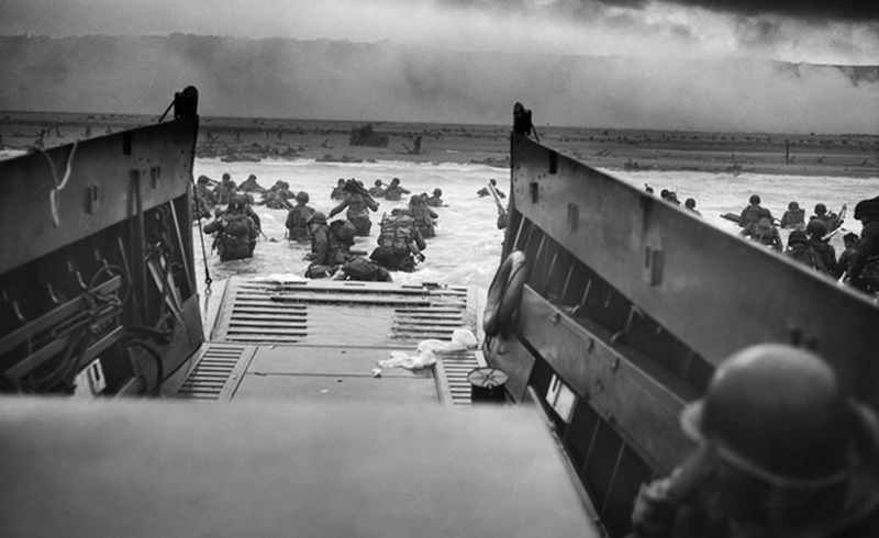 men in WWII