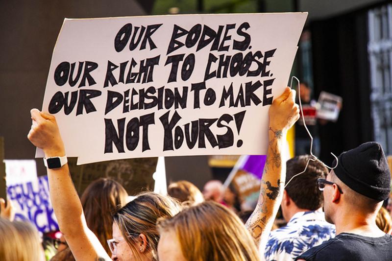 body autonomy protesters