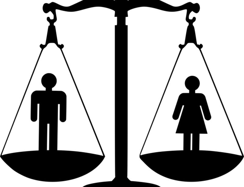 male and female scale