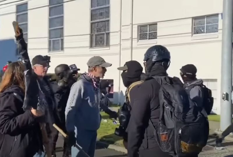 protest fight