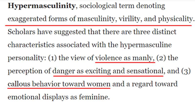 hypermasculinity